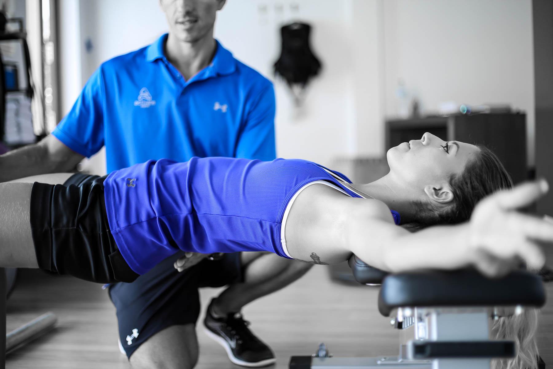 Restablece tu postura y patrones de respiración